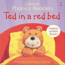 Ted in a red bed (Usborne Phonics Readers), Cox, Phil Roxbee, 0746077173, New Bo