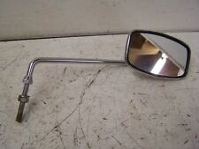 NOS NEW VINTAGE OEM YAMAHA HONDA RIGHT HAND RECTANGLE MIRROR 8MM MADE IN JAPAN