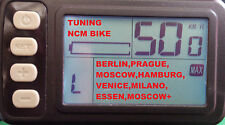 E - Bike Drosselung entfernen - C4B Display (Tuning NCM Prague, Berlin, Hamburg)