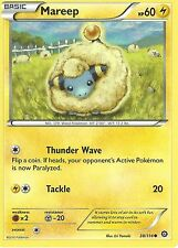POKEMON XY STEAM SIEGE CARD - MAREEP 38/114