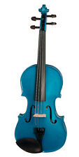 Stentor Harlequin Series 4/4 Full Size Violin Outfit with Case - Atlanta Blue
