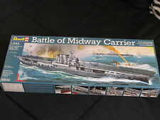revell 4009803050140battle of midway aircraft carrier plastic model kit