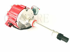 Chevy SBC 350 BBC 454 65K Coil HEI Electronic Distributor - Red Cap FC