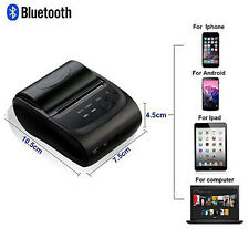 Mini Wireless Portable Bluetooth Thermal Printer Receipt for Android Windows iOS