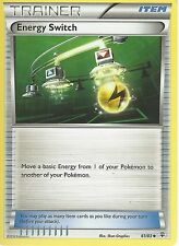 POKEMON GENERATIONS TRAINER CARD - ENERGY SWITCH 61/83