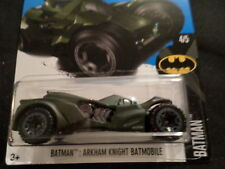 HW HOT WHEELS 2017 HW BATMAN #4/5 BATMAN ARKHAM KNIGHT BLACK HOTWHEELS VHTF