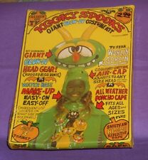 vintage KOOKY SPOOKS WOBLIN GOBLIN blow-up Halloween costume new/sealed in box