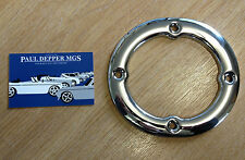MGB GT Chrome Gearlever Surround (AHC187) (4 Syncro Cars)