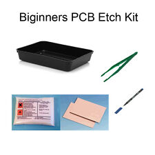 BEGINNERS PCB BOARD ETCHING ETCH SIMPLE SET KIT NEW UK STOCK