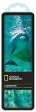National Geographic 3-D Bookmark Hologram Bottlenosed Dolphin Office School Gift