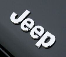 JEEP Badge Chrome Tout Neuf Cherokee Wrangler Liberty Patriot Grand Cherokee