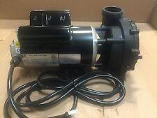 """LX Spa Pump 48-Frame 1.5HP 2 Speed 2"""" 10' Amp Cord - Waterway, Aqua-Flo, Balboa"""