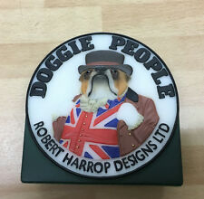 Doggie People Collection Plaque by Robert Harrop DPCP - NEW in Box