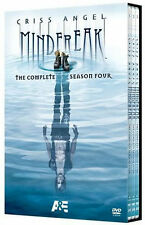 CRISS ANGEL: MINDFREAK - COMPLETE SEASON 4 (3PC) - DVD - Region 1 - Sealed