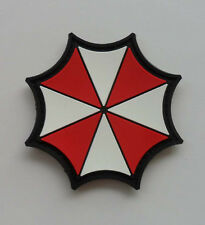 Hot  Resident Evil Umberlla LOGO PVC 3D Rubber   Patch SK  11