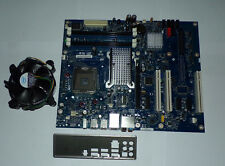 Mainboard Intel DP35DP Sockel 775 Quad-Core XeonX DDR2-RAM ATX Lüfter + Blende