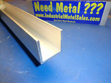 "1-1/2"" x 1-1/2"" x 72""-Long x 1/8"" Thick 6063 T52 Aluminum Channel"