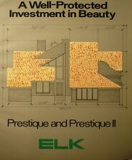 ELK Built Up Roof Roofing Systems ASBESTOS Coating Cement Products Prestique '83