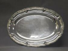 Large Mexican sterling silver .925 tray, 1kg 414g Lot 97