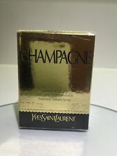 NEW YSL Champagne Yvresse Perfume Edt DISCONTINUED 20ml spray refillable bottle