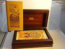 Bi-Ass Enoil Gavat Tarocco  Italian TaroT Cards IN Wooden Box