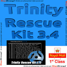 Trinity Rescue Kit WINDOWS / LINUX recovery disk - latest version - menu driven