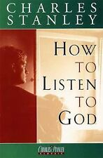 How To Listen To God Stanley, Dr. Charles F. Hardcover