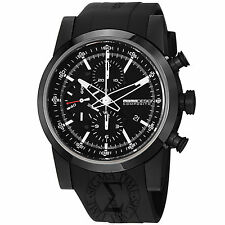 Momo Design Men's Composito Rubber Strap Automatic Watch MD280BK-01BKBK