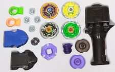 4D Metal Master Fusion Rapidity Fight Battle Beyblade Launcher Grip Set US