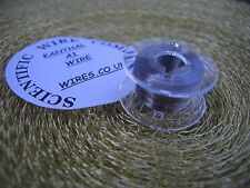 10mts RESISTANCE WIRE, NICKEL CHROME, ELEMENT WIRE, HEATER WIRE - 0.1mm / 42swg