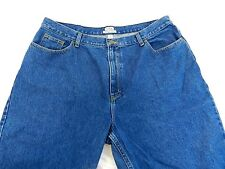 LL Bean Original Fit Relaxed Womens Jeans Size 20W Regular