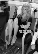 BRIGITTE BARDOT Cute PHOTO Sexy Blonde RARE Busty Candid BARE LEGS barefoot NICE