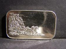 Stage Coach 1 Ounce .999 Fine Silver Bar Lot 44
