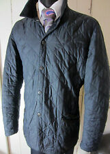 "Barbour Flyweight Conway Quilted Black Jacket  XL UK 44"" to 46"" Chest"
