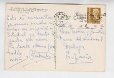 hongkong 1972 PPC with one stamp to spain        c867
