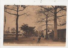 Congo Boma Avenue Royale Quartier Principal Vintage Postcard 968a
