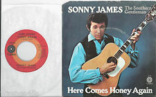 SONNY JAMES * 45 Here Comes My Baby * UNPLAYED * 1971 #1 * w/ PS *  Last 1