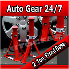 2 Tonne Car Van 2000kg Approved Fixed Base Axle Stands