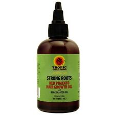 Tropic Isle Living  Strong Roots Red Pimento Hair Growth Oil 4oz for Hair Growth