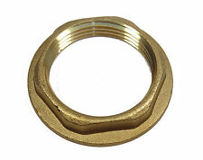 1-1/4 Inch BSP Brass Flanged Back-nut | Bathroom Wash Hand Basin Waste Size