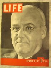LIFE Sept 13 1937 1937 American Fascist rally, Japan battles Chinese in Shanghai