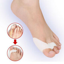 1Pair Silicone Gel Foot Fingers Two Hole Toe Separator Thumb Valgus Protector