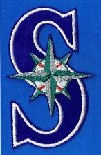 SEATTLE MARINERS EMBROIDERED MLB EMBROIDERED TEAM PATCH