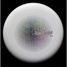 Nite Ize Flashflight 175g Ultimate Frisbee Disc White w/ Holographic Foil Stamp
