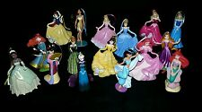 Disney Princess Deluxe Christmas Ornament Set 16 pc Merida Ariel Elsa Belle Anna