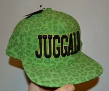 ICP Insane Clown Posse Snapback Green Cheetah Leopard JUGGALO Official ICP Hat
