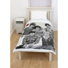 Official One Direction 'Crush' 1D Panel Fleece Blanket Bed Throw Brand New Gift