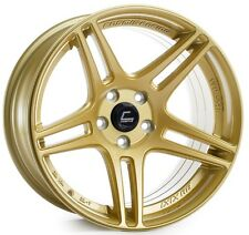 Cosmis Racing S5R 18x9/10.5 5x114.3 +26/20 Gold Rims Fits Ford Mustang 350Z 370Z