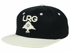 """LRG """"Research Group"""" Snapback Cap (Black/White) One Size Fits All - Adjustable"""
