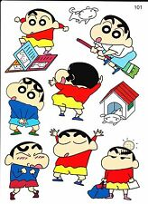 HOT Fashion Skateboard Luggage Bike 'Crayon ShinChan' Stickers Buy 3 Get 1 Free